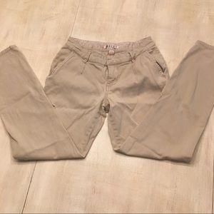 Roxy khaki pants. Sz 0
